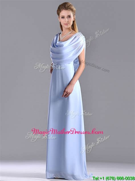 light blue mother of the bride dresses dress for the wedding elegant spaghetti straps light blue long mother of the