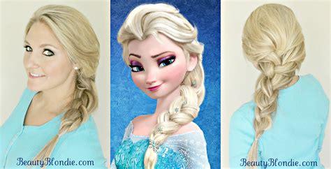 Elsa Hairstyle Doll by Image Gallery Elsa Hair