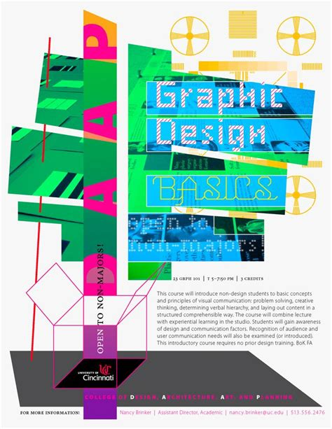 layout basics graphic design graphic design basics course flyer 313p1 viz research