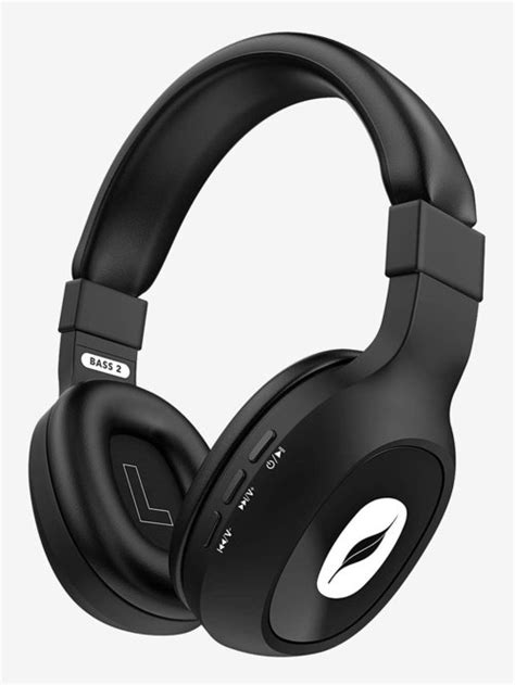 Leaf Bass 2 Over The Ear Bluetooth Headphone With Mic