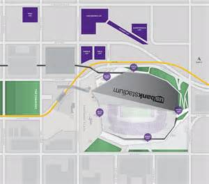 dome tailgating map minnesota vikings official vikings tailgate parking at u