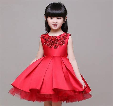 Wedding Dress Anak Tutu Blossom Merah buy grosir manis anak from china manis anak penjual