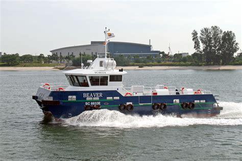 trimaran workboat 16m workboat