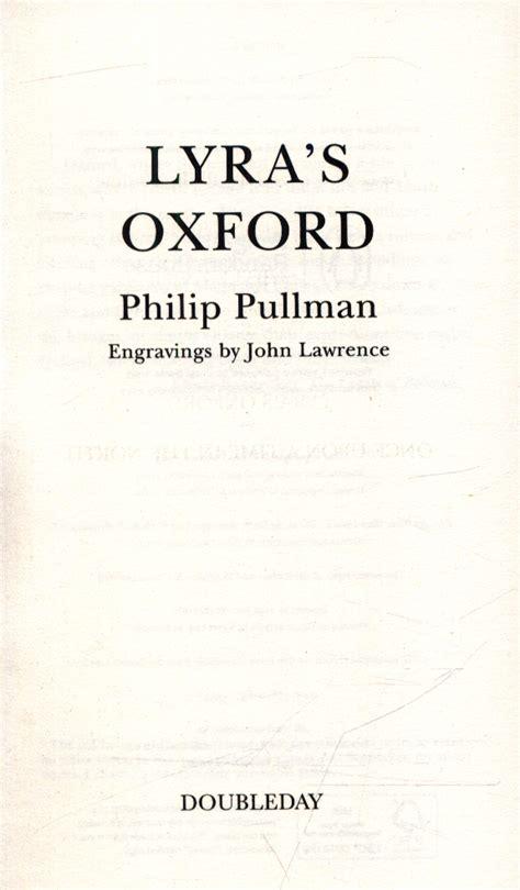 lyras oxford his dark 0857535579 lyra s oxford by pullman philip 9780857535573 brownsbfs