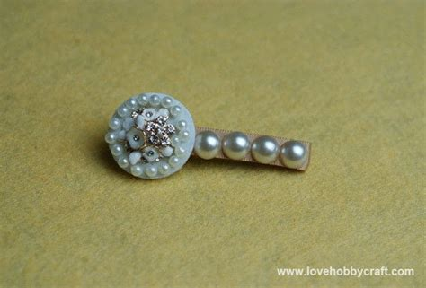 Handmade Hair Barrettes - handmade pearl hair accessories 183 how to make a pearl hair