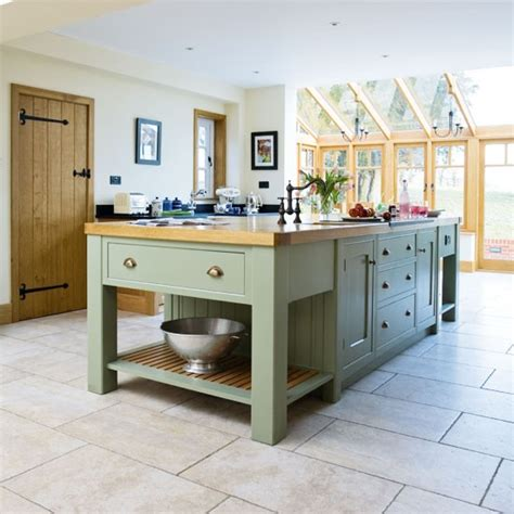 country kitchen islands island take a tour around a painted country style kitchen housetohome co uk