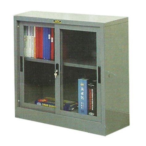 Daftar Lemari Arsip Kaca jual lemari arsip pintu sliding kaca 189 tinggi type b 306