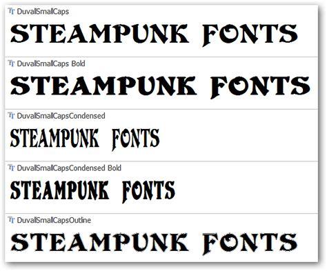 dafont stea victorian steunk font images
