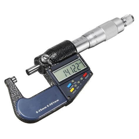 Micrometer 0 25mm 0 001mm 0 25mm 0 001mm lcd electronic digital micrometer scale measurement kit alex nld