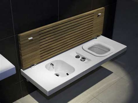 toilet bench g full toilet and bidet bench from hatria freshome com