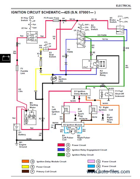 deere 445 wiring diagram model wiring diagram
