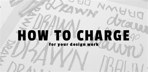 poster design how much to charge how to charge for your graphic design work