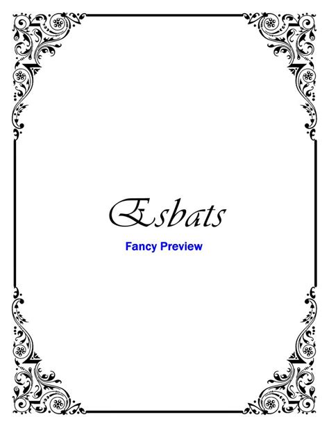 Crochet Home Decor Patterns Free printable book of shadows bos divider pages and stationery