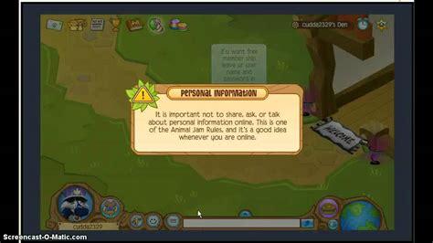 animal jam hacking ajhq to get free beta eyes youtube animal jam member ship hacks youtube