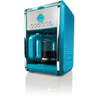 teal kitchen appliances bella dots collection 12 cup programmable coffee maker
