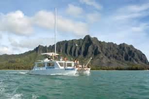catamaran boat cruise oahu best oahu cruises and boat tours