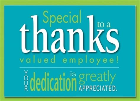 Thank You Card Template For Employees by Employee Appreciation Cards