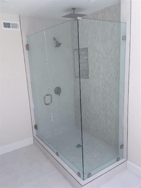 New Shower Enclosure Glass Shower Enclosure Encinitas Ca Patriot Glass And