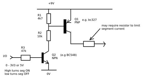 led common cathode circuit 7 segment common cathode led digit display circuit for arduino electrical engineering stack