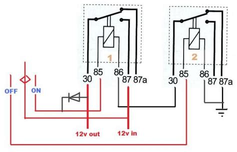 relay wiring diagram negative trigger efcaviation