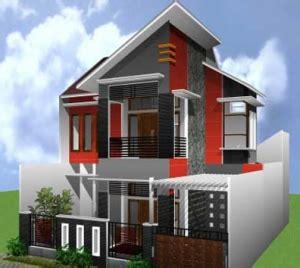 Archicad 15 Untuk Desain Arsitektur Perumahan Modern desain rumah minimalis 2 lantai type 45 desain rumah