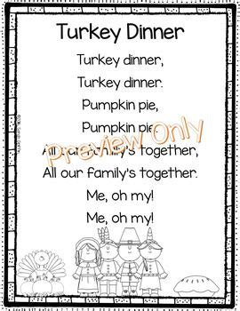 christmas and new year poems for kindergarten thanksgiving poem turkey dinner kindergarten themes thanksgiving poems