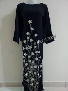 Berlian Hitam Bunga New by Baju Jubah Batik Sutera Creepe Harga Terendah Jualbeli