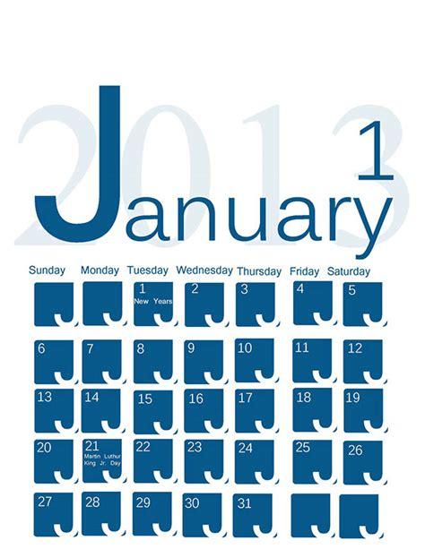Types Of Calendars Type Calendar On Behance