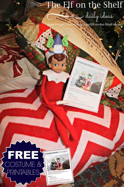 printable elf on the shelf accessories free elf on the shelf costumes and elf printable notes