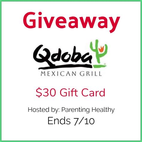 Qdoba Gift Card - 30 qdoba gift card giveaway imperfect women