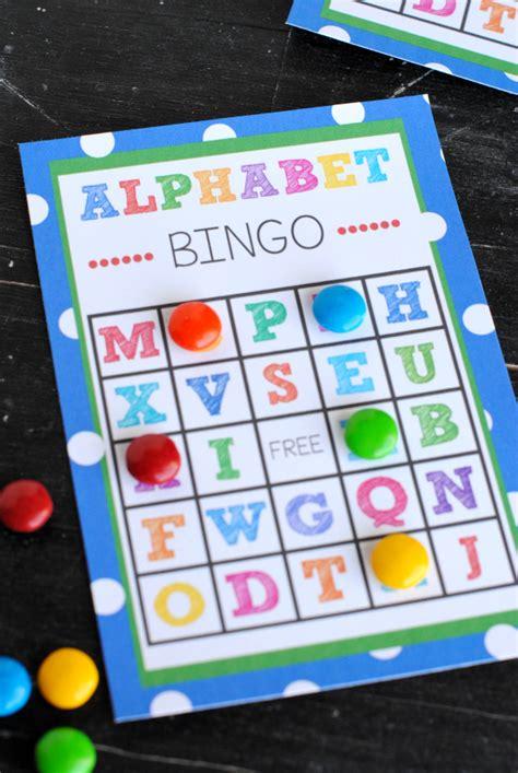 printable bingo games for kindergarten printable alphabet bingo for kindergarten printable pages