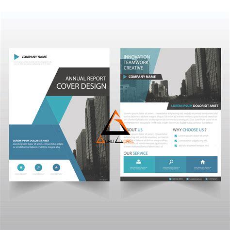 design brosur corel download vector brosur bisnis keren coreldraw guru corel
