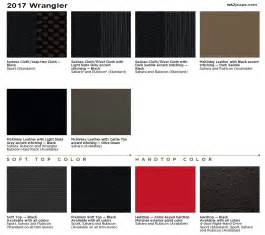 Top Paint Colors 2017 by 2017 Wrangler Jk Information Thread Jeep Garage Jeep Forum
