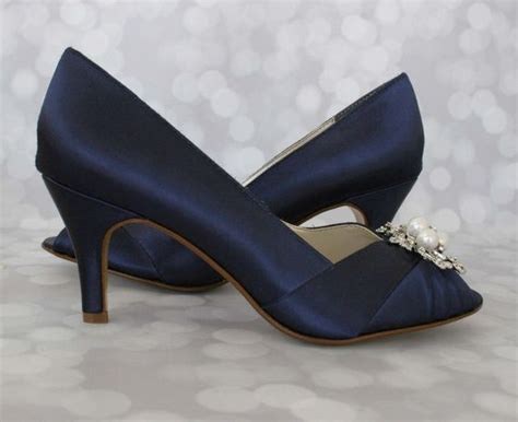 Navy Bridal Shoes by 25 Best Ideas About Navy Wedding Shoes On