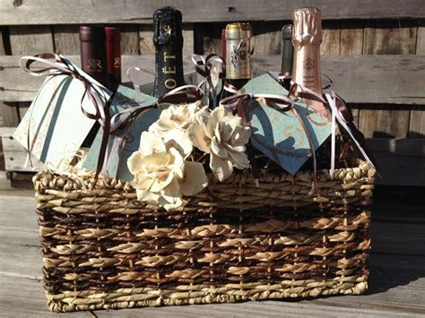 Wedding Gift Wine For Occasions by Bridal Shower Or Wedding Gift Wine Basket With A