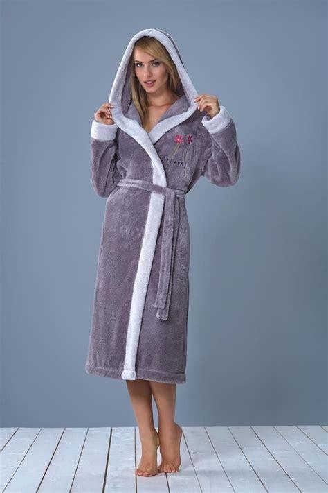robe de chambre peluche femme peignoir femme capuche