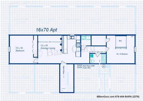 Barn Apartment Plans by 6 Stall Horse Barn Plans