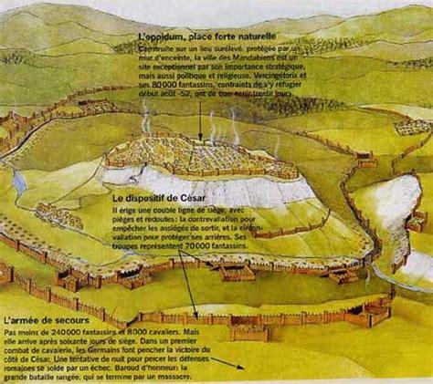 siege alesia bataille d al 233 sia en 52 av jc