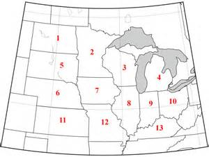 us map quiz midwest midwest capitals quiz