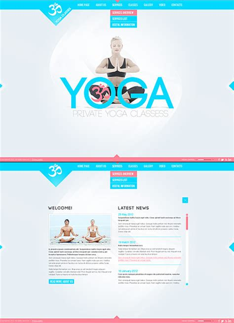 bootstrap templates for yoga yoga classes html5 template best website templates