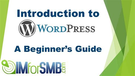 tutorial wordpress admin panel wordpress admin panel tutorial introduction to the