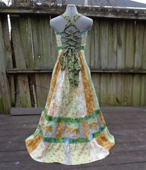 Patchwork Hippie Dress - the peace tree patchwork hippie boho maxi dress