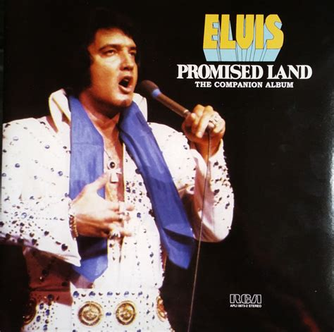 the promise an elvis elvis presley promised land the companion album vinyl lp at discogs