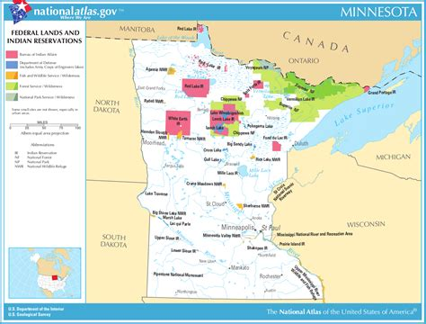 indian reservations usa map map of minnesota map federal lands and indian