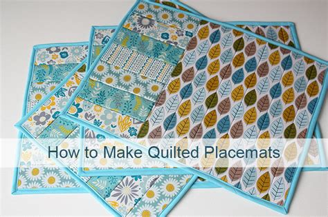 How To Make A Patchwork - how to make table placemats using jelly rolls and bonsal