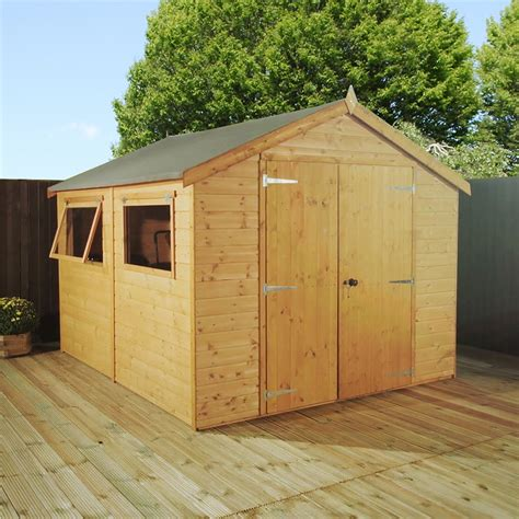 2 Floor Sheds by 10 X 6 Premier Tongue And Groove Apex Shed With
