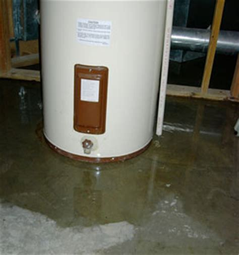 Do Salt Ls Leak Water by Water Heater Leaking From The Bottom Do This