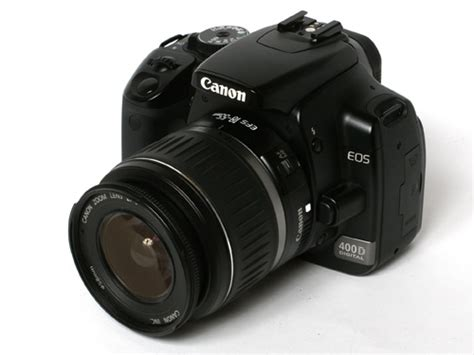 Dslr Canon Eos 400d trusted reviews