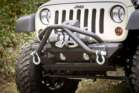 rugged ridge all terrain bumper rugged ridge s new all terrain modular steel bumper system jpfreek