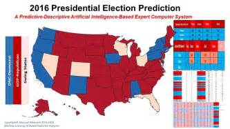 2016 Presidential Election Predictions Map by Presidential Election 2016 Predictions By State Html